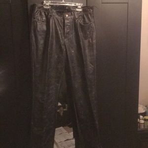 Just Cavalli men's leather pants.